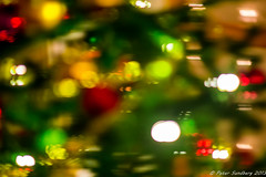 Christmas is all a blur! (PeterSundberg65) Tags: red blur color colour yellow göteborg december sweden gothenburg christmastree christmaseve