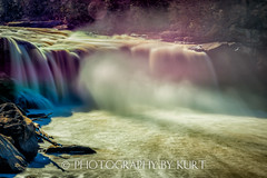 11-29-2013_CumberlandFalls_115-Edit (Photography by Kurt) Tags: water waterfall december kentucky falls waterfalls cumberland cumberlandriver ccumberlanfalls