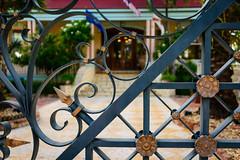 Detail of a gate (Ale Berger) Tags: trip vacation usa detail metal keys nikon gate florida keywest southflorida d600 southernmosthouse