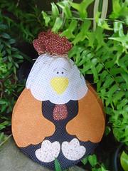 JOGO AMERICANO GALINHA COUNTRY! (Lucimar Lima) Tags: galinha country patchwork jogo americano