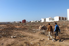 Walk to the beach (K. Sakulku) Tags: people men beach walking desert outdoor agadir soil morocco rubbish local behind stroll