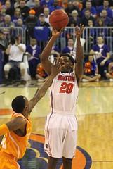 Michael Frazier II (dbadair) Tags: basketball ut university florida tennessee volunteers gators sec uf odome vols 2014