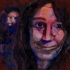 Mariah O'Neill (flynryon) Tags: portrait inspiration reflection texture mike mobile digital surreal photographic canvas artists organic ryon fingerpainted artstudio brushstroke emulate scumble fingerpainter iphoneart paintbook jkpp fingerpaintedit flynryon ipaintings juliakaysportraitparty iamda