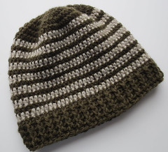 Crochet Stitches Ravelry : Ravelry: Crocheted Ribbed Hat Pattern pattern by Cindy RecycleCindy
