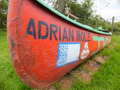Adrian Mole (stevenbrandist) Tags: red orange green boat leicester vessel canoe adrianmole suetownsend lopc leicesteroutdoorpursuitscentre