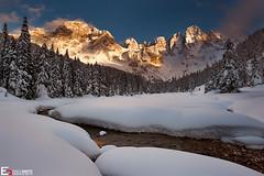 Snow - Val Venegia, Pale di San Martino (Dolomites) (Enrico Grotto) Tags: