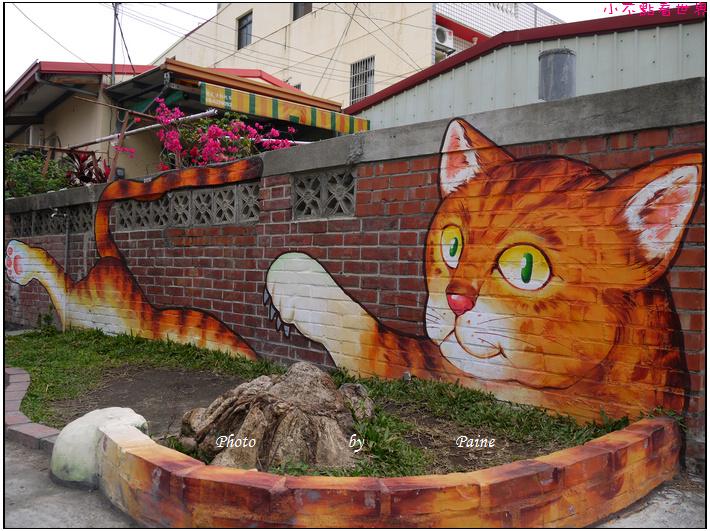 雲林虎尾屋頂上的貓 (10).JPG