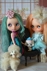 MIETTE, FRANCES AND THEIR PETS