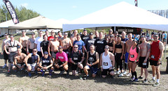 IMG_6224 (U.S. Army Garrison - Miami) Tags: park race swimming jumping wire state florida miami south saturday running southern climbing april warrior fitness 12th sprint crawling barbed obstacle command fiu garrison spartan sweating dade southcom oleta imcom fmwr