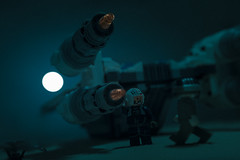this time la luna (jooka5000) Tags: laluna starwars lego photography legography uwing toyphotography scene dialogue frame pilot rebel trooper starfighter inthenight newmoon jooka5000 diorama thistimelaluna breakingtherules
