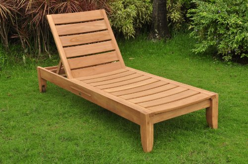 Cheap Grade-A Teak Wood Luxurious Multi Position Atnas Sun Chaise Lounger Steamer – Furniture Only #TSCHAT