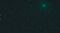 Comet 41P:Tuttle–Giacobini–Kresák    Timelapse 11 Seconds (jim denny) Tags: comet heavens nightsky cosmos universe shootingstar blue black mystery awe