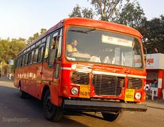 Beed - Amravati (yogeshyp) Tags: msrtc maharashtrastatetransport msrtcparivartanbus beedamravatistbus
