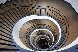 spiralne stepenice / spiral staircase