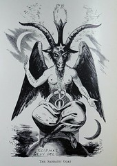 The Sabbatic Goat (University of Glasgow Library) Tags: occult magic spiritualism 19thcentury oldbooks occultism witchcraft drawing illustration baphomet demon demonology devil blackmagic