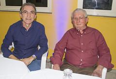 Presidente Marcelo Queiroz e o prefeito Targino Pereira