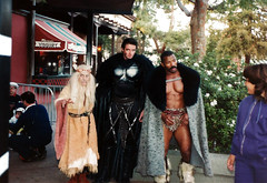 Universal Studios Hollywood - Theme Park - Heroes from The Adventures of Conan: A Sword and Sorcery Spectacular Show - 1987 (AdinaZed) Tags: universal studios hollywood ush nbc theme park the adventures conan a sword sorcery spectacular show california 1987 ca