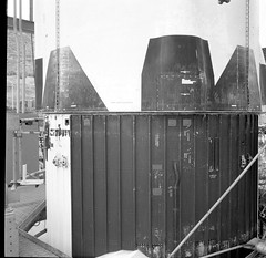 Atlas Collection Image (San Diego Air & Space Museum Archives) Tags: pointloma atlas pneumatictest testlab pressuretest 1967 tank pressurevessel propellant oxidizer rocket