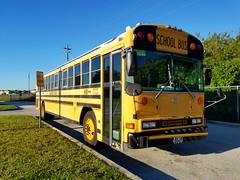 Bus #4180 - 2004 Blue Bird All American RE (Brady Backhoff) Tags: 4180 2004 blue bird all american re hillsborough county florida school bus