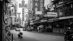 Long Weekend... (Kompakin Borwornpakramil) Tags: fujifilm gfx50s gf63mmf28rwr chinatown เยาวราชchinatown bw blackandwhite monochrome bangkok thailand moodandatmosphere