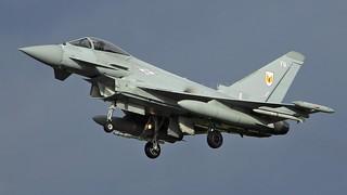 ZJ928/FQ  TYPHOON  1sqn  RAF