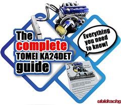 Tomei USA Releases A Complete Guide To KA24DET Turbo Application (vividracing) Tags: boost downpipe exhaust headgasket intake intercooler ka24de tomei tomeiusa turbo turbocharger valvespring