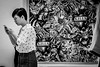 What message is this? Love & Kills! | Santorini Park | Bangkok 2016 (Johnragai-Moment Catcher) Tags: people photography juxtaposition blackandwhite blackwhite momentcatcher monocrome santorinipark bangkokstreet bangkok street streetphotography johnragai johnragaiphotos johnragaistreet johnragaibw
