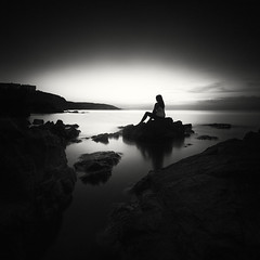 ! (Yucel Basoglu) Tags: fineart blackandwhite seascape turkey yucelbasoglu landscape longexposure waterscape bnw blackwhite women beauty