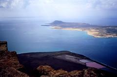 mirador del Rio, Lanzarote, Canarische Eilanden 1989
