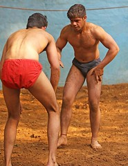 "Kushti Wrestling (Kushtiguy) Tags: ""eos 7d mark ii"" india newdelhi gurujasramjisakhara akhara kushti wrestling wrestle wrestler 2017 sport outdoor sand male men"