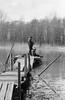 Fishing (Cattail_) Tags: helsinki finland spring fishing vanhankaupunginlahti minolta x500 tmax mc rokkorpf rokkor standdevelopment stand standdeveloped film
