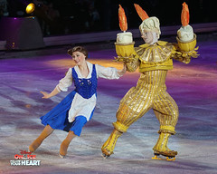 Belle & Lumiere - Beauty and the Beast (DDB Photography) Tags: disney disneyonice ice waltdisney disneyphoto disneypictures disneycharacters dreambig mickey mickeymouse minnie minniemouse mouse feld feldentertainment donaldduck duck goofy figure skate figureskate show iceshow prince princess princesses castle animation disneymovie movie animatedmovie fairytale story rogerscentre rogers skydome toronto ontario canada princessbelle belle princeadam adam beauty beast gaston cogsworth lumiere potts chip