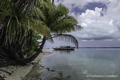 Vaka Boat - Aitutaki lagoon © Catherine Crawford 2017 (Zimbrit) Tags: vakaboat vaka boat atoll beach paradise sun lagoon sea aitutaki onefootisland cookislands