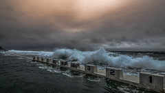 Merewether Ocean Baths Newcastle (Tonitherese) Tags: ocean pool newcastle beach waves sea merewether nsw australia