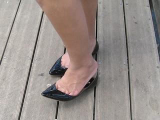 Black Patent Flats
