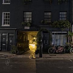 Warren Mews (www.charlottegilliatt.com) Tags: gaslight london night cobblestones bicycles urban buildings