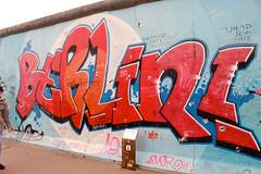 East Side Gallery, Berlin April 2017. (Greyframe) Tags: greyframe berlin wall red paint east side gallery tag graffity grafity germany hauptstadt eastsidegallery
