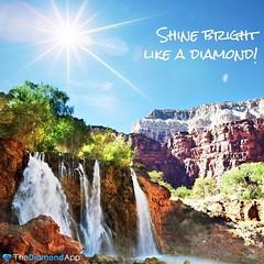 Shine bright like a diamond! We're beautiful like diamonds in the sky! #shinebrightlikeadiamond #sparkle #shine #diamondsinthesky #thediamondapp #beautifullikediamondsinthesky (thediamondapp) Tags: beautifullikediamondsinthesky shine thediamondapp sparkle diamondsinthesky shinebrightlikeadiamond