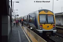 3010 at Portadown, 22/4/17 (hurricanemk1c) Tags: railways railway train trains translink 2017 northernirelandrailways nir caf class3000 c3k portadown 3010 1600belfastgreatvictoriastreetportadown