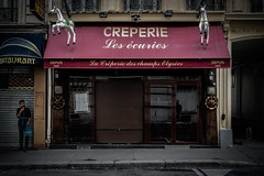 Creperie, Paris, 2015 (KSWest) Tags: 2015 copyright©2015 lightroom on1 street travel ©kswest ©stevewest ©stevenwest paris france fra
