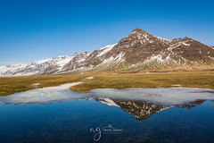 someware in Iceland :) (Pastel Frames Photography) Tags: icelandsouth reflections mountains snow nature travelphotography travel lovenature outdoors sightseeing water canon5dmark3 2470mm amazing country mustgoplace