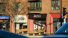 Preparing for Summer (caribb) Tags: montreal montréal quebec québec canada urban city 2017 street streets eastend mercierhochelaga mercier beaubien otellas shops stores windows balconies balkon awnings