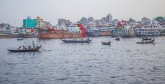 Buriganga (Shahriar Arifin) Tags: buriganga river blue sky boat boatman boating water daylight outdoor landscape