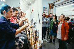 """Mesa redonda """"Entre la pintura y el tapiz"""" (espaciosparaelarte) Tags: cultura comunidad de madrid cirtuitos real fábrica tapices federico miró tapiz mesa redonda"""
