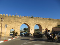 Multi-arch city gate, Meknes, Morocco (Paul McClure DC) Tags: meknes morocco almaghrib jan2017 meknès historic architecture