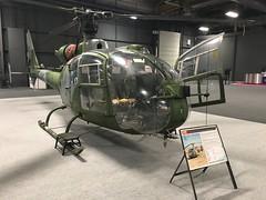 British Army Gazelle Helicopter