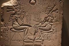 Akhenaten, Nefertiti and family (Nick in exsilio) Tags: berlin germany egypt egyptian sculpture ancient neuesmuseum nefertiti akhenaten