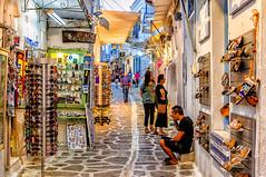Parikia, Paros (Kevin R Thornton) Tags: d90 coffeetime nikon travel street people parikia mediterranean greece paros egeo gr