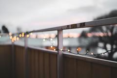 (DrowsyPotato) Tags: sony ilce7rm2 fe 35mm f14 za sunset bokeh lights bokehlicious bokehful balcony sweden winter february a7rii a7r2 mark ii mk2 mkii alpha