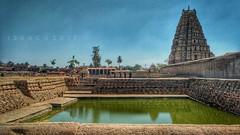 Virupaksha temple, Hampi (Izaak Anthony) Tags: temple ruins vijayanagara heritagesite hampi traveller wanderer traveldaires vijayanagaraempire